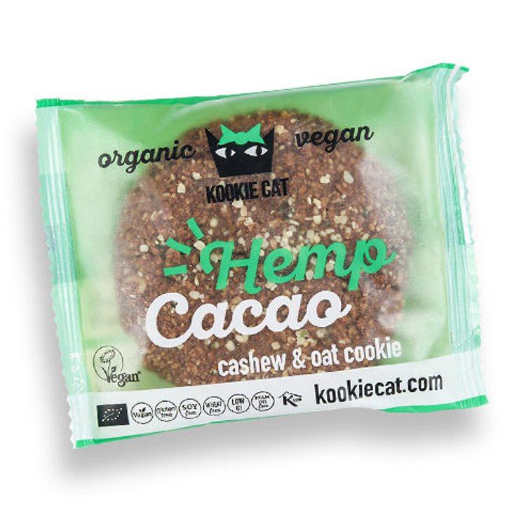 Био веган курабийка с конопено семе и какао 50г