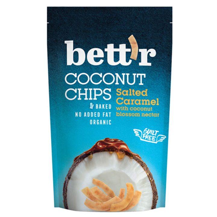 Кокосов чипс със солен карамел 70г