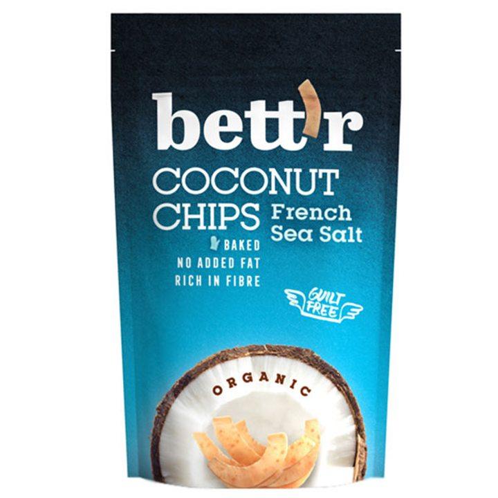 Кокосов чипс с френска морска сол 70г