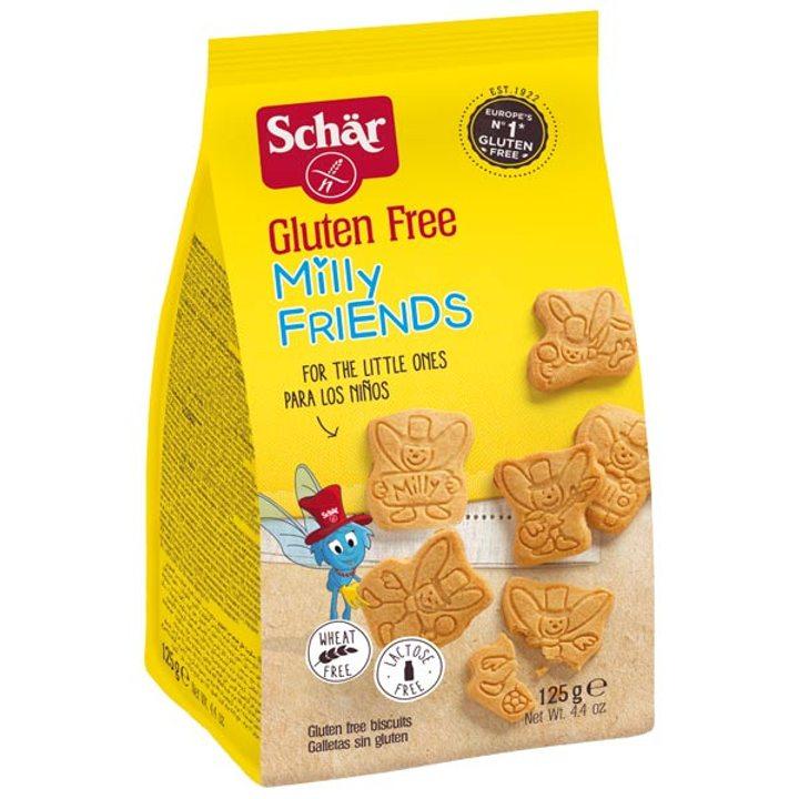 """Безглутенови бисквити """"Мили Френдс"""" 125г"""