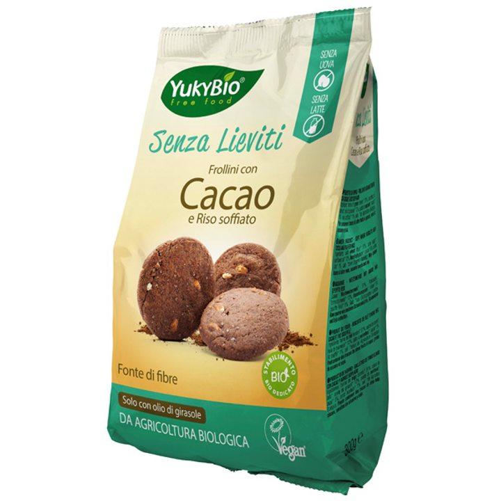 Био пшенични бисквити с какао и пукан ориз 300г