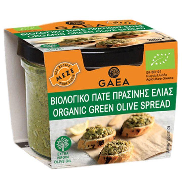 Био паста от зелени маслини 100г