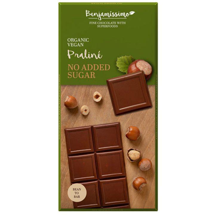 Био шоколад без добавена захар 70г