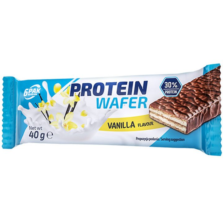 Протеинова вафла с ванилия 40г