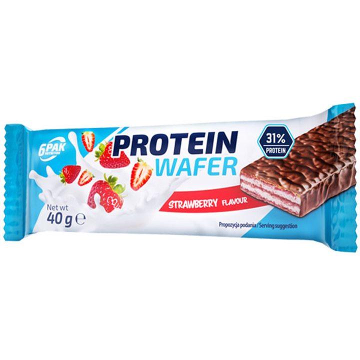 Протеинова вафла с ягода 40г