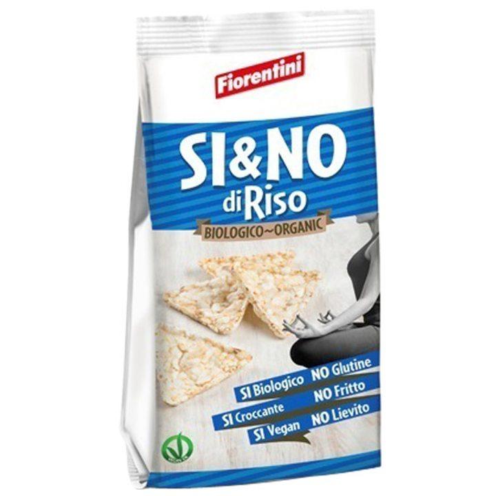 Био мини оризов снакс с морска сол 100г
