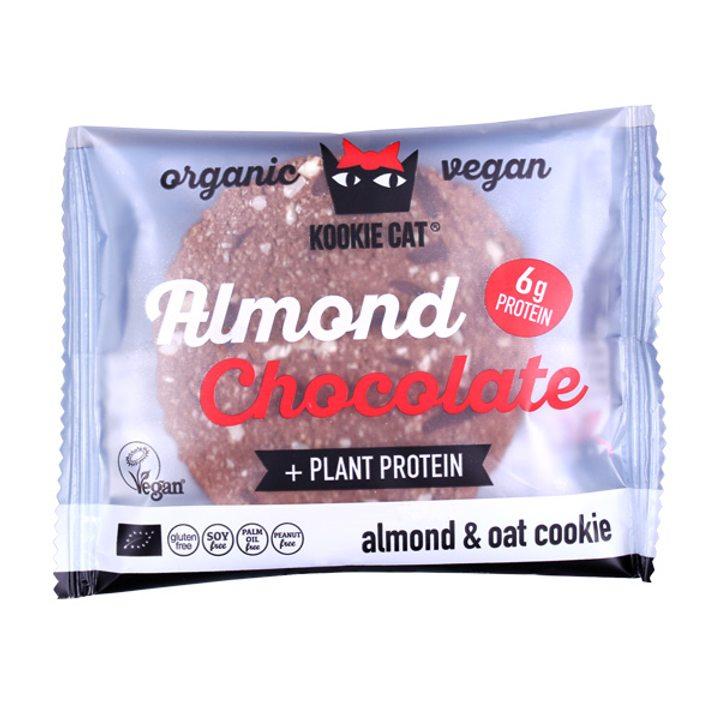 Био курабийка с протеин и черен шоколад 50г