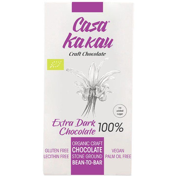 Био занаятчийски черен шоколад 100% 70г