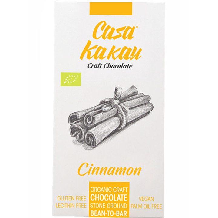 Био занаятчийски шоколад канела 68% 70г