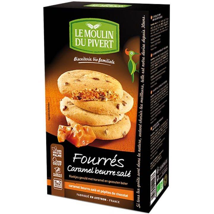 Био бисквити с пълнеж от карамел 175г