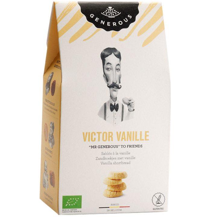 Био бисквити ванилия без глутен 120г
