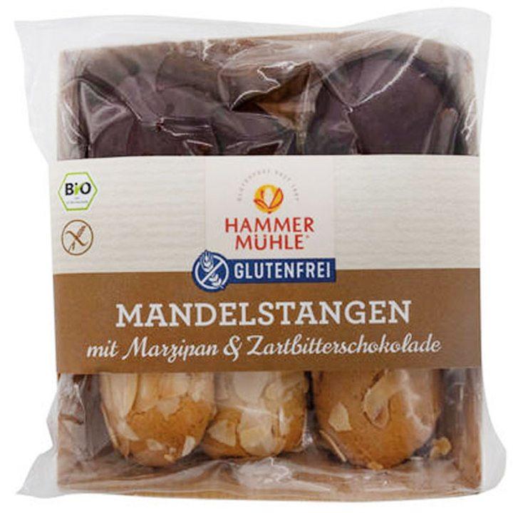 Био бадемови сладки с марципан и черен шоколад без глутен 125г