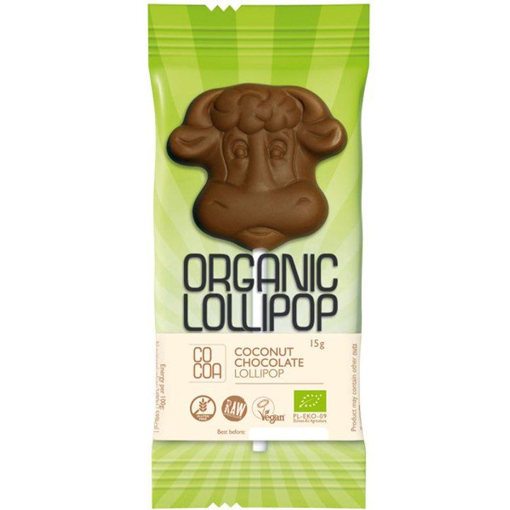 Био шоколадова близалка с кокос 15г