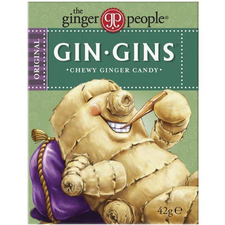 Дъвчащи бонбони с джинджифил 42г