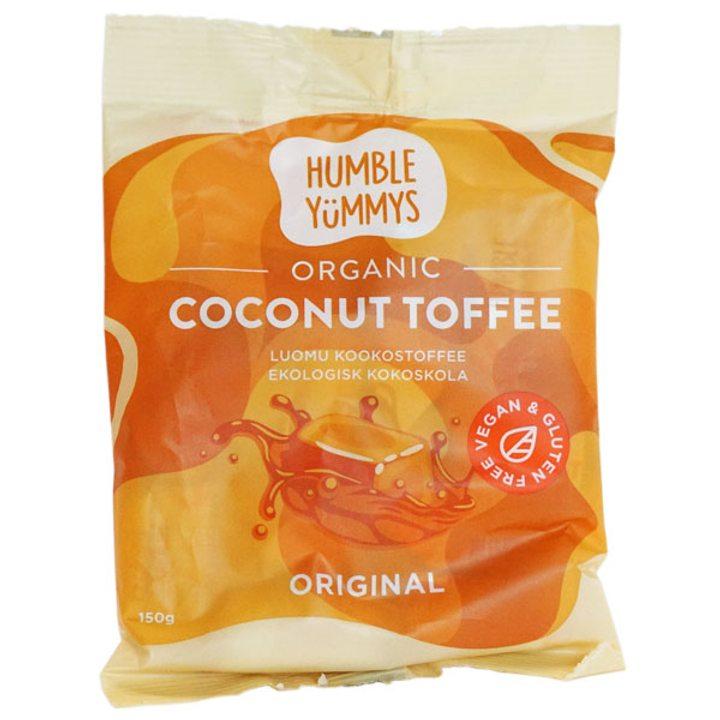 Био дъвчащи бонбони тофи с кокос 150г