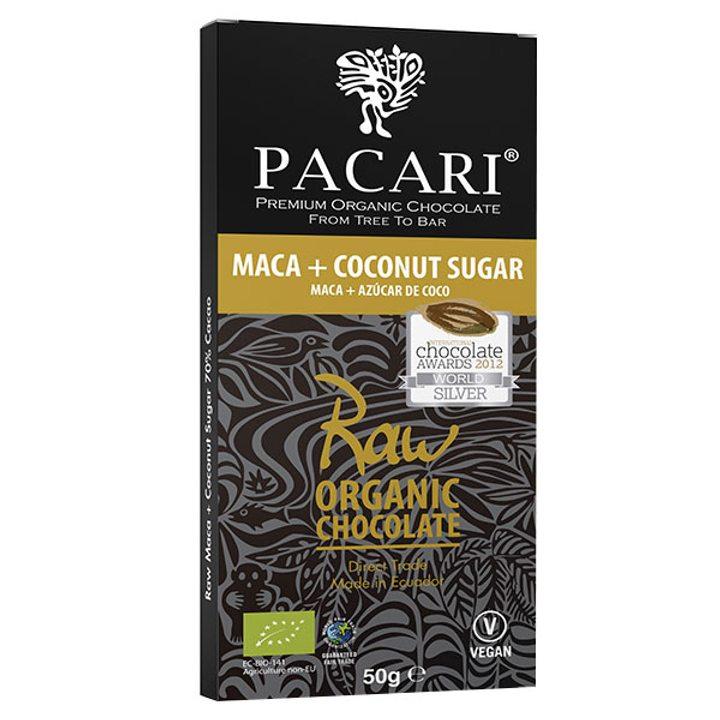 Био суров шоколад 70% какао с мака 50г