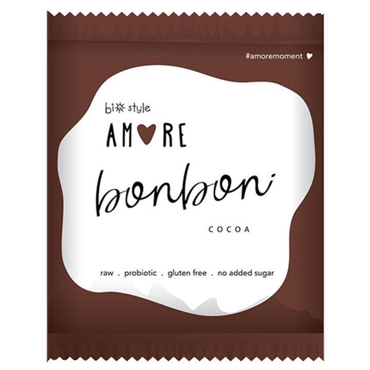 Био аморе бонбон с какао 40г