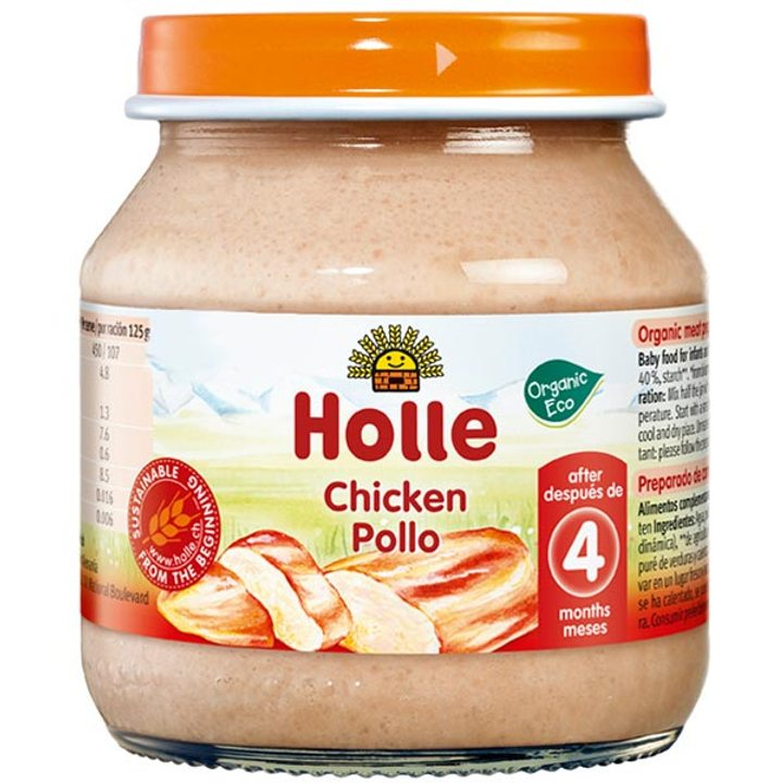 Био пюре от пилешко месо 125г