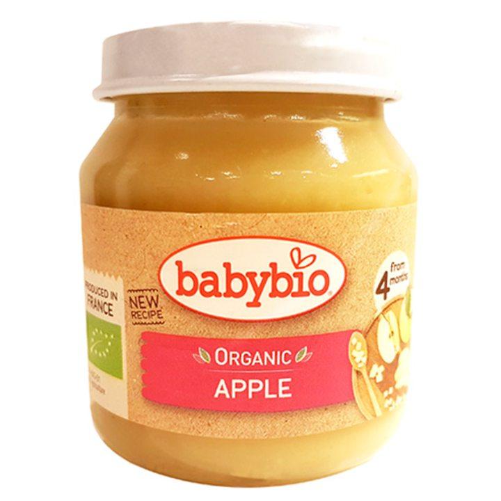 Био плодово пюре ябълки 130г