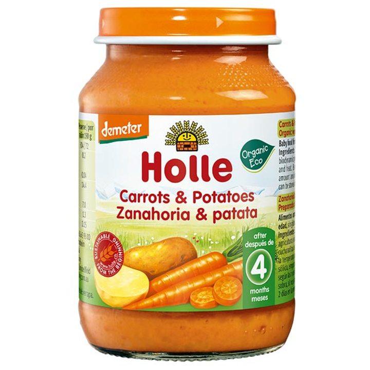 Деметер пюре от моркови с картофи 190г