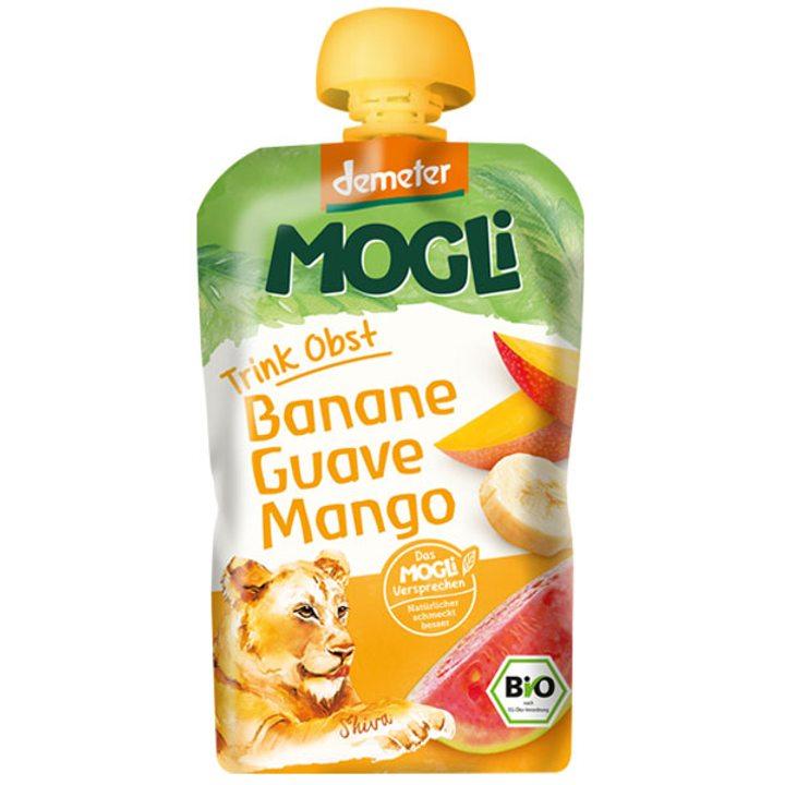 Деметер пюре банан, гуава и манго 100г