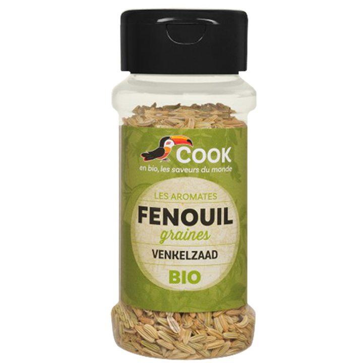 Био фенел (див копър) на зърна 30г