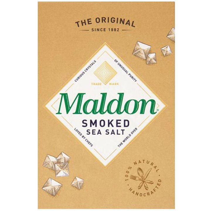 Органична пушена морска сол Maldon 125г