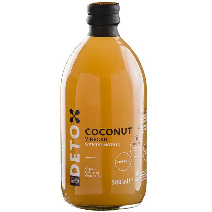 Био кокосов оцет нефилтриран 500мл
