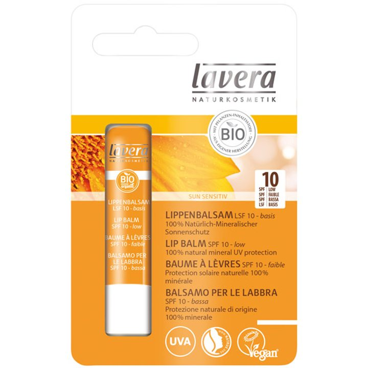 Балсам за устни с UV защита