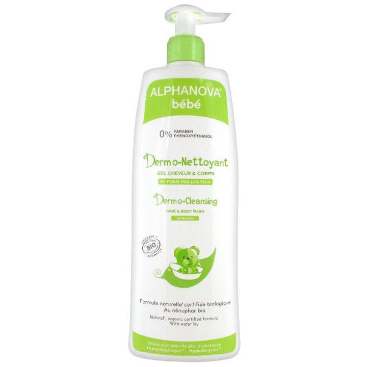Органичен дермо-почистващ гел за коса и тяло 500мл