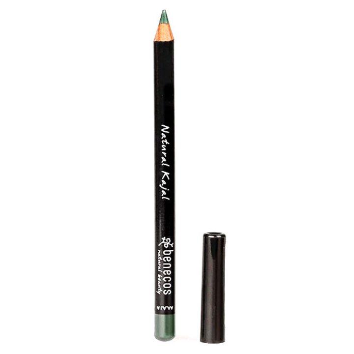 Натурален молив за очи зелен
