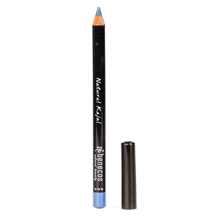 Натурален молив за очи светлосин