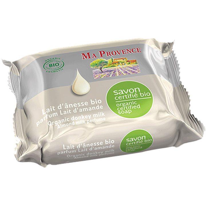 Био сапун с магарешко мляко и бадем 75г