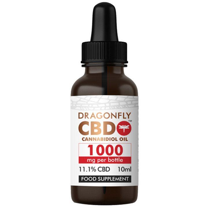 CBD тесен спектър 1000мг 10мл DRAGONFLY