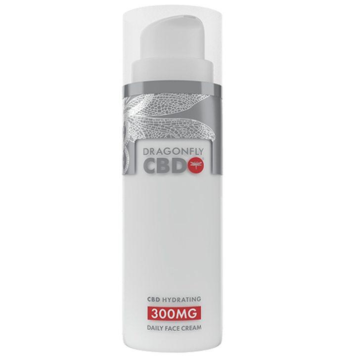CBD Хидратиращ крем за лице 300 мг 75 мл DRAGONFLY