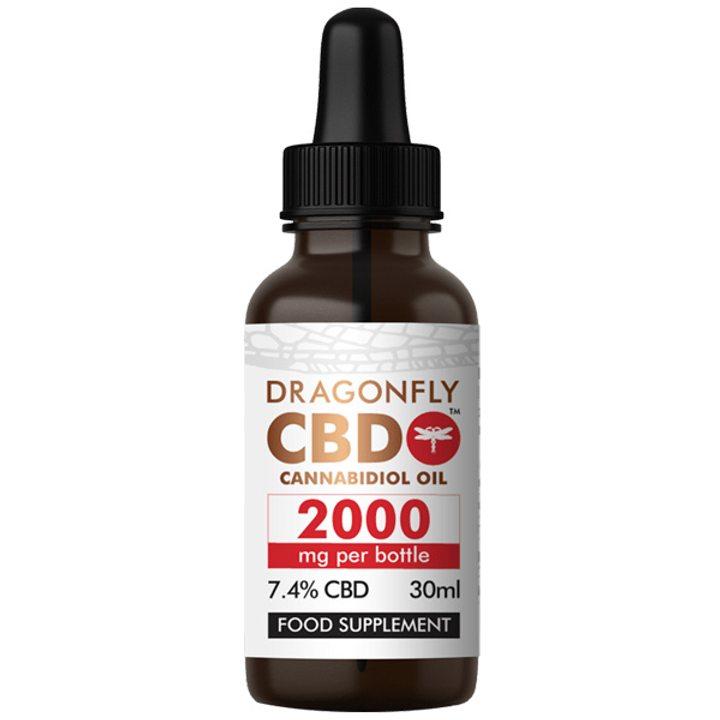 CBD тесен спектър 2000мг 30мл DRAGONFLY