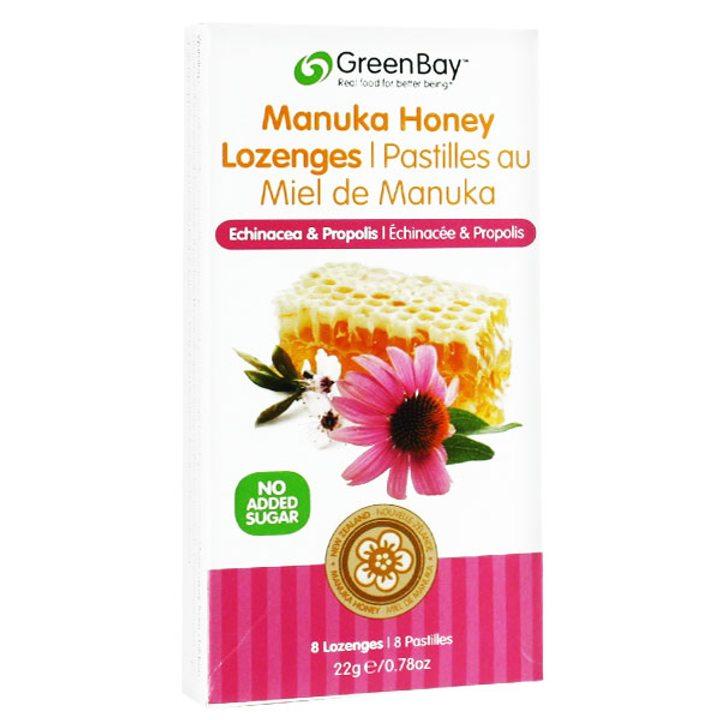 Таблетки за смучене с мед от манука, ехинацея и прополис 22г