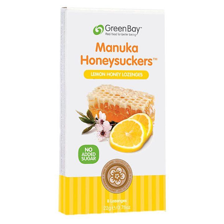 Таблетки за смучене с мед от манука и лимон 22г
