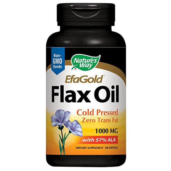 Органично ленено масло 100 капсули, 1000мг
