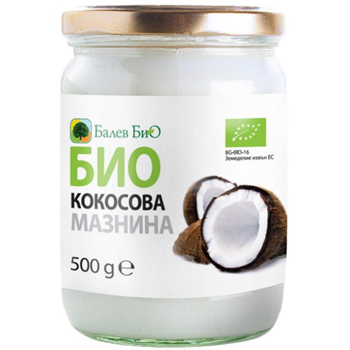 Био сурова кокосова мазнина 500г
