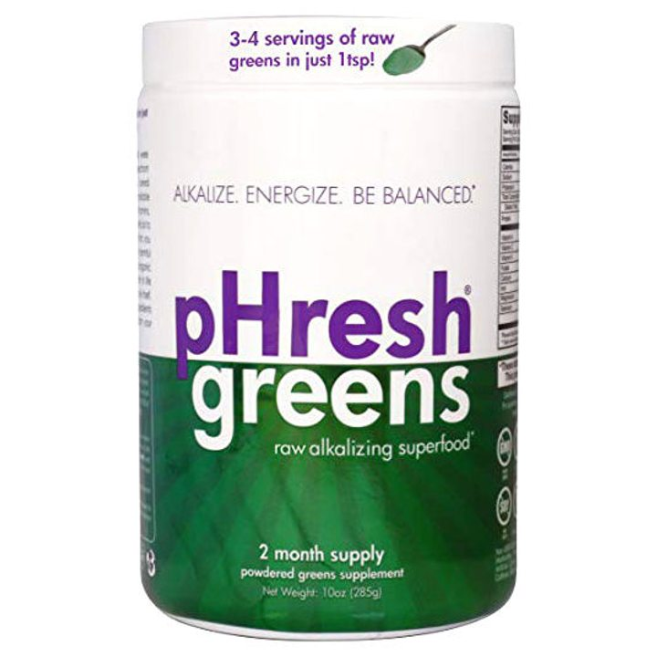 pHresh greens® сурова алкализираща суперхрана 285г