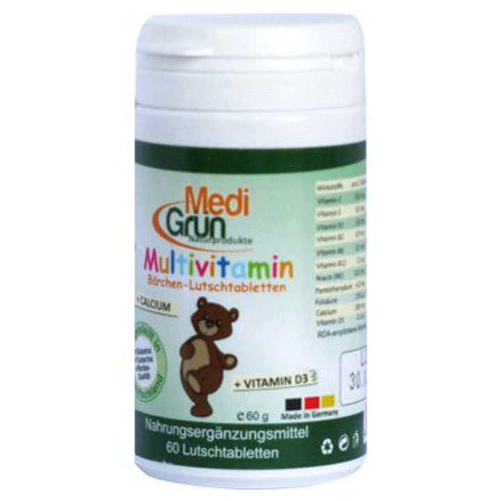 Мултивитамин Мечо 60 таблетки за смучене