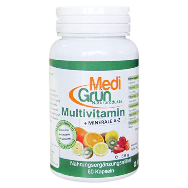 Мултивитамини + Витамин А – Я 60 капсули