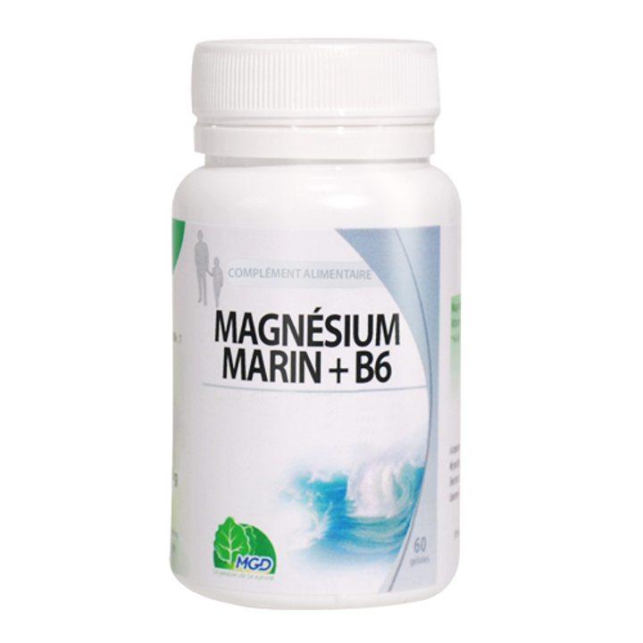 Морски магнезий + Витамин B6 30 капсули