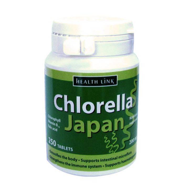 """Хлорела """"Япония"""" 250 таблетки х 200мг"""
