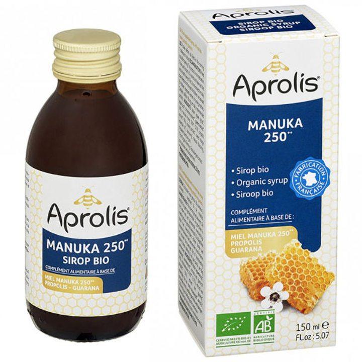 Био сироп с мед от манука 250 активност, прополис и гуарана 150мл