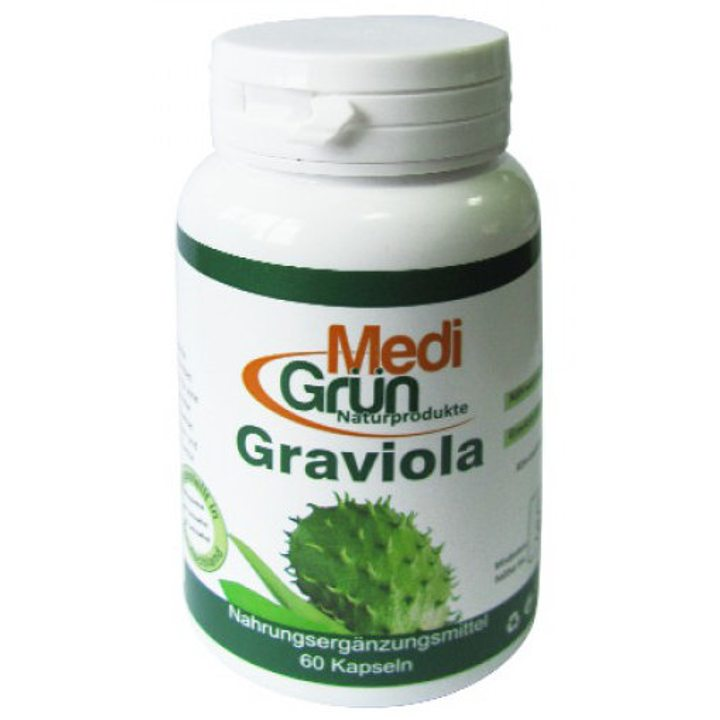 Хранителна добавка Гравиола 60 капсули х 500мг