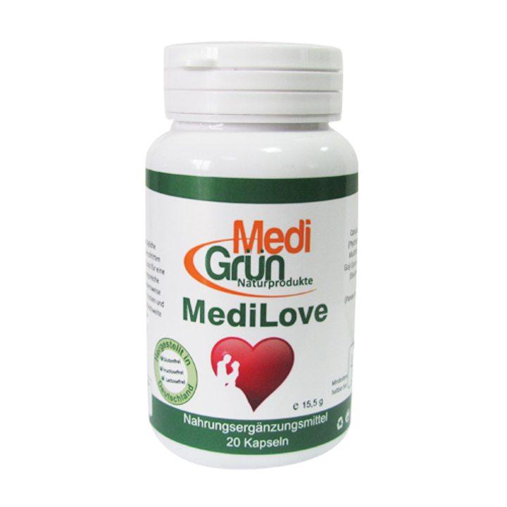 Хранителна добавка МедиЛов 20 капсули