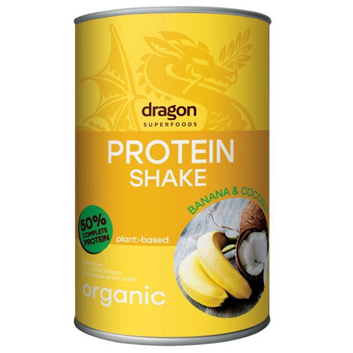 Био протеинов шейк с банан и кокос 450г