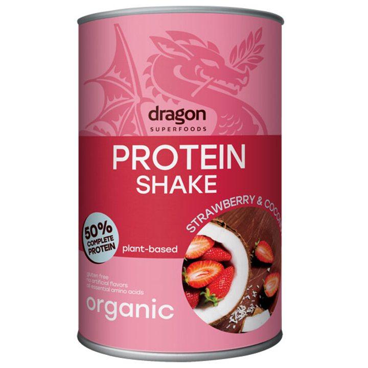 Био протеинов шейк с ягода и кокос 450г
